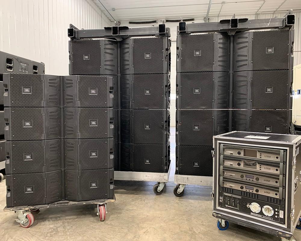 JBL VTX V25-II-CS line array