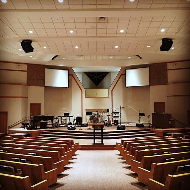 Church Audio Installation