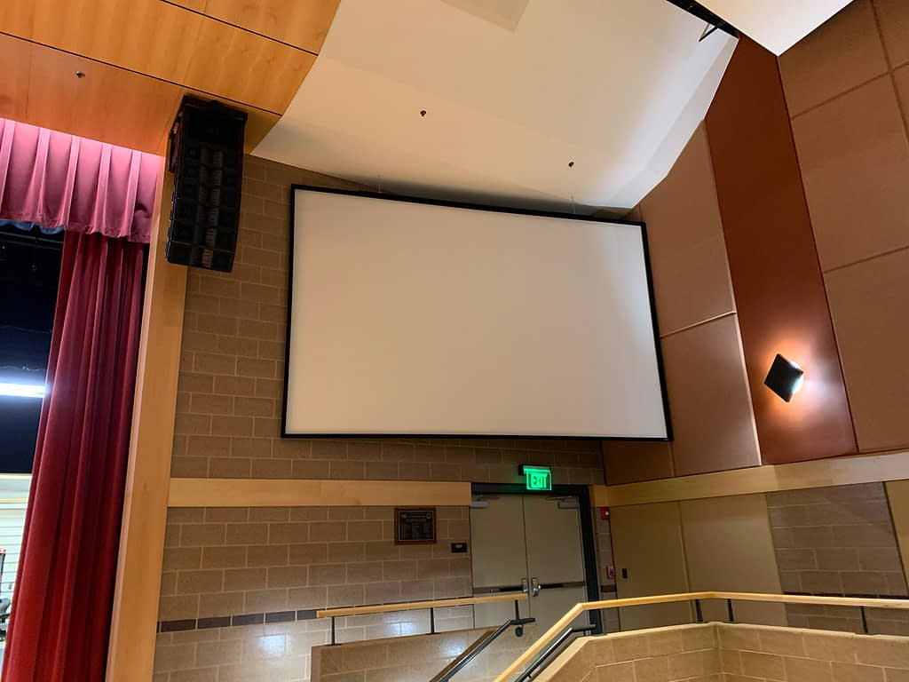 Southeast Polk High School Pac with New Sound System and Screens Placement